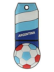 Argentina-Ball plástico con forma de USB Memory Stick 4G