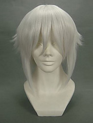 cosplay peluca inspirada en la paz hakuoki fabricante shiro Chikage kazama