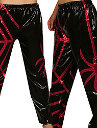 Black Spider mer pantaloni in PVC