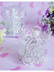 """You Are My Angel""Candle Holder With Rhinestine"