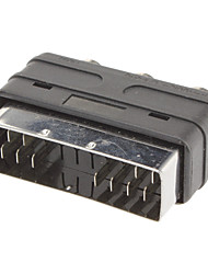 Scart auf 3 RCA F / F Adapter