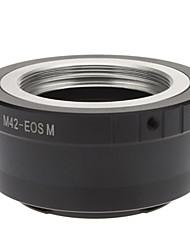 Adaptador para M42 Lens para Canon EOS Mirrorless M EF-M