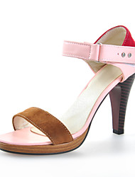 Chic Kunstleder Pfennigabsatz Sandalen mit Split Joint Party / Abend Schuhe (weitere Farben)