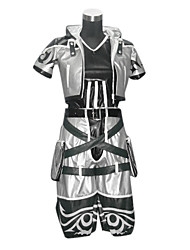 Inspired by Kingdom Hearts Sora Video Game Cosplay Costumes Cosplay Suits Patchwork Black Top