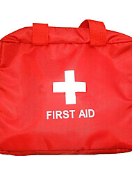 First Aid Kit Emergency Hiking Red