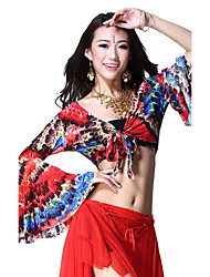 Dancewear Cotton Belly Dance Top For Ladies More Colors