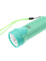 Omeika OMK-3233 lampe de poche rechargeable 2-Mode 4-LED avec la lumière ultraviolette (couleurs assorties)