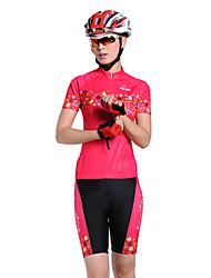 MYSENLAN CoolDry + Flex Материал с коротким рукавом быстросохнущие женщин костюмы Велоспорт