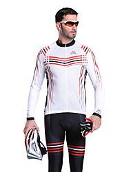 MYSENLAN CoolDry + Flex Материал длинным рукавом Quick-Drying/Breathable Мужчины Велоспорт костюмы