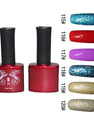 Natural Pure Color Nail UV Color Gel No.115-120 (12ml, 1PCS)