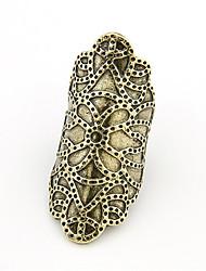 Style punk de l'anneau d'alliage de modèle de la sculpture (couleurs assorties)
