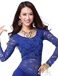 Dancewear Lace Belly Dance Top For Ladies More Colors