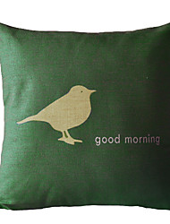 Доброе утро, хлопок / лен Декоративные Чехол