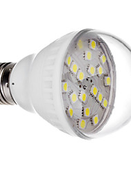 E27 3.0W 20x5050SMD 240-300LM 6000-6500K Cool White Light LED Bulb (220V)