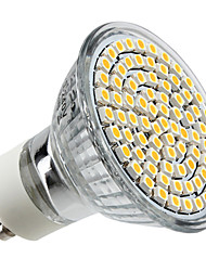 4w gu10 led spotlight mr16 80 smd 3528 350-400 lm bianco caldo ac 220-240 v