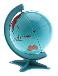 Global Forma Quebra-cabeça Quebra-cabeça mágico