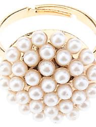 PVO champignons et blanc perle anneau d'ouverture