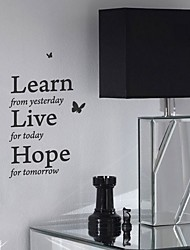Inspiration Life Quote Wall Sticker