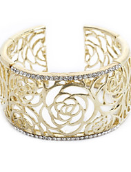 Adorável Liga com bracelete de cristal mais cores