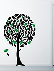 Tree & Leaves Wall Sticker