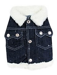 Dog Shirt / T-Shirt / Denim Jacket/Jeans Jacket / Clothes/Clothing Blue Winter Jeans