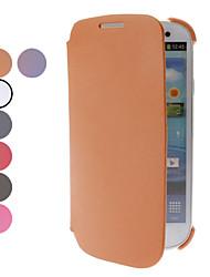 PU Leather Case Full Body per Samsung Galaxy S3 I9300 (colori assortiti)