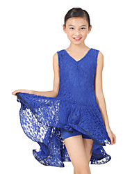 Dancewear Viscose mit Spitze Latin Dance Dress For Children (weitere Farben)