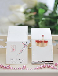 Wedding Décor Personalized Matchbooks - Love (Set of 50)