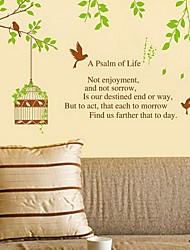 A Palsm of Life Wall Sticker