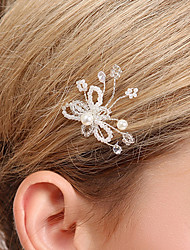 Women's Crystal Headpiece-Wedding Special Occasion Hair Pin