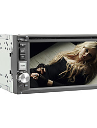 6.2 Inch 2DIN Car DVD Player with Bluetooth, RDS, GPS