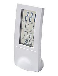 Creative Transparent Design LED Alarm Clock with Thermometer