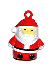 Cute Cartoon Father Christmas Pattern Little Bell for Dogs (Assorted Sizes)