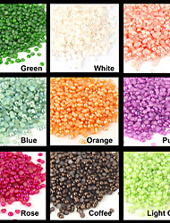200PCS Bébé perle Nail Art Décoration strass 2mm (couleurs assorties)