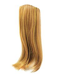 "18"" Premium Clip in Hair Extensions Golden Blonde Full Head"