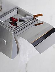 """Suporte para Papel Higiênico Aço Inoxidável De Parede 125 x 125mm (5 x 5"""") Aço Inoxidável Contemporâneo"""