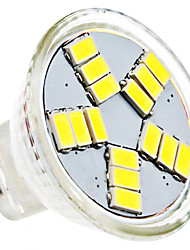 4W GU4(MR11) Faretti LED MR11 15 SMD 5630 420 lm Bianco AC 12 V