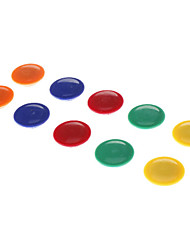 4cm Colorful Rounded Magnet (8pcs)