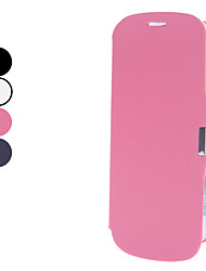 Solid colore PU Leather Case Full Body per Samsung Galaxy S3 I9300 (colori assortiti)