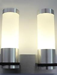 2W moderna luce a led con 2 cilindri Artiglieria Led