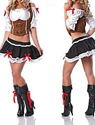 Princesse Seires Brown et noir Polyester Pirate Princess Costume (3 Pieces)