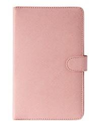 7-Zoll-PU-Leder Schutzhülle Tablet-Kasten mit Build-in Tastatur und Ständer