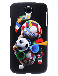 Football Pattern Hard Case for Samsung Galaxy S4 I9500