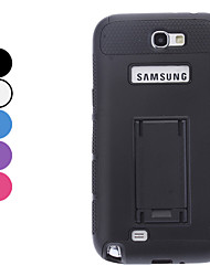 Hard Case Double-Color avec support pour Samsung Galaxy Note N7100 2 (couleurs assorties)
