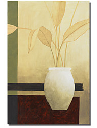 Печатные Ваза холсте Пабло Эстебана с растянутыми кадра