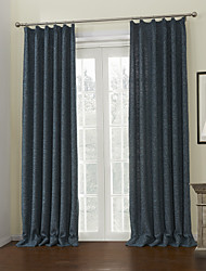 AnTi™ (Two Panels) Solid Energy Saving Lined Curtain