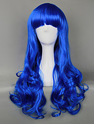 Royal Blue Gothic Lolita Curly Wig
