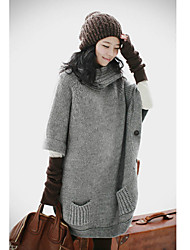 Women's Knitted Jumper with Pockets