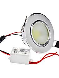 Dimmable 5W 1-400LM 6000-6500K Natural White Light Ampoule LED COB de plafond (220)