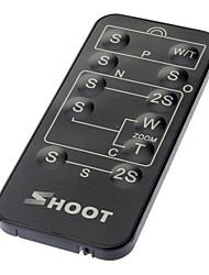 Wireless IR Remote Control per Sony / Canon / Nikon / Olympus / Pentax (1xCR2025)